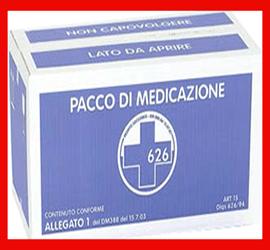 Pacco Medicazioni di Ricambio