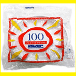 100 Piatti Piani in plastica
