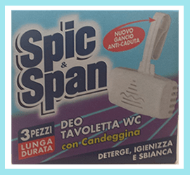 Spic e Span deo tavoletta WC