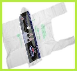 Sacchi Biodegradabili con Maniglie Eco Sacme