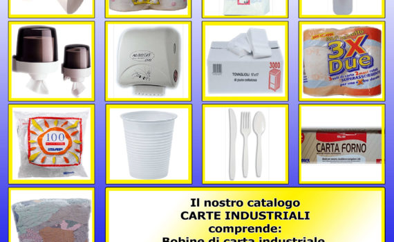 Cover Catalogo Carte Industriali