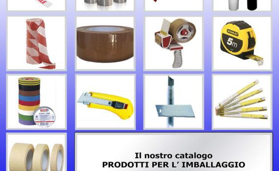 Cover Catalogo Prodotti Imballaggio