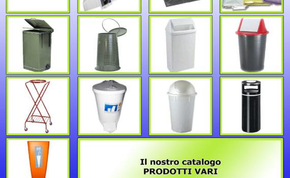 Cover Catalogo Prodotti Vari