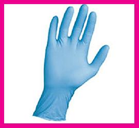 Guanti in Nitrile Blu Monouso