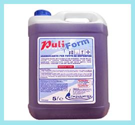 Puliform Igienizzante e Detergente Cerindustrie