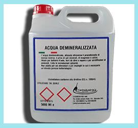 Acqua Demineralizzata Cerindustrie