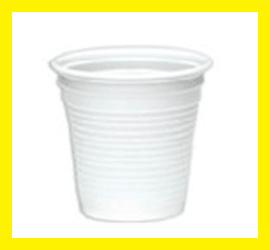 Bicchiere da Caffe Plastica