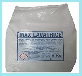 Max Lavatrice detersivo in polvere