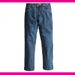 Pantalone Jeans in Cotone