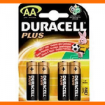 Pile Stilo Duracell Plus AA