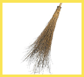Scopa Industriale Bambu 18 Rami Extra
