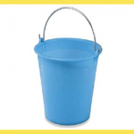 Secchio Polietilene Azzurro