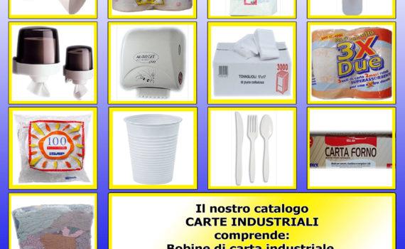 Cover Catalogo Carte Industriali