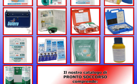 Cover Catalogo Pronto Soccorso