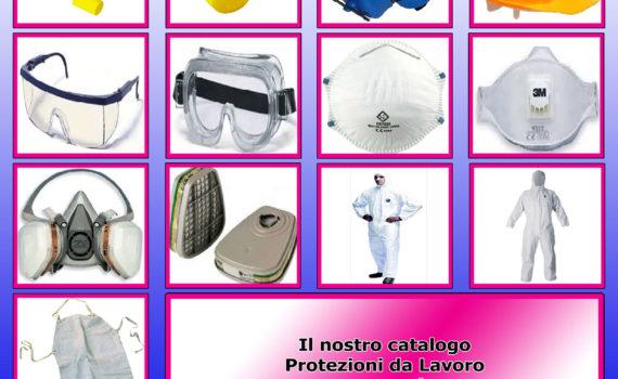 Cover Catalogo Protezioni da Lavoro
