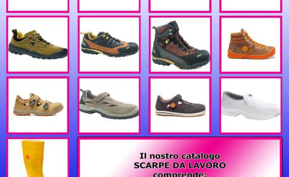 Cover Catalogo Scarpe da Lavoro